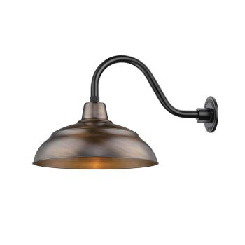 Millennium Lighting Warehouse Shade in Natural Copper
