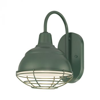 Millennium Lighting R Series 1-Light Wall Sconce in Satin Green