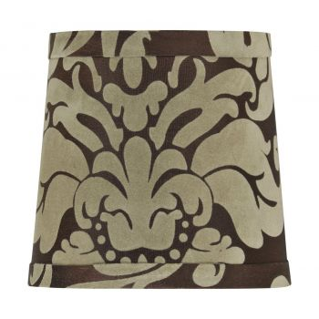 """Craftmade Design & Combine 5.5"""" Shade in Brown Damask"""