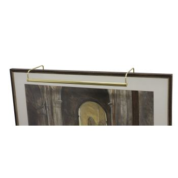 "House of Troy Slim-line 21"" Polished Brass Picture Light"