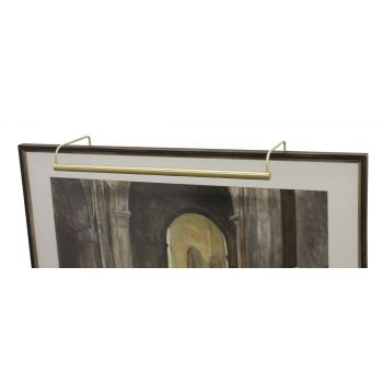 "House of Troy Slim-line 30"" Satin Brass Picture Light"