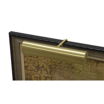 "House of Troy Traditional 14"" Satin Brass Picture Light"