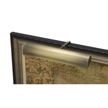 "House of Troy Traditional 14"" Antique Brass Picture Light"