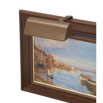"House of Troy Traditional 5"" Picture Light Bronze Finish"