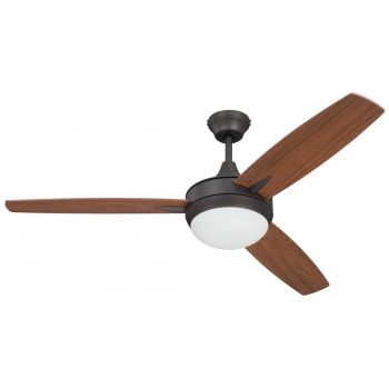 "Craftmade Targas 52"" Ceiling Fan w/ Blades in Espresso"