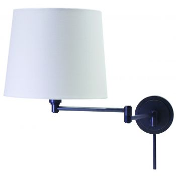 House of Troy Oil Rubbed Bronze Swing-Arm Wall Lamp