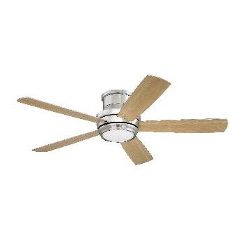 """Craftmade Tempo Hugger 52"""" Ceiling Fan in Brushed Polished Nickel"""
