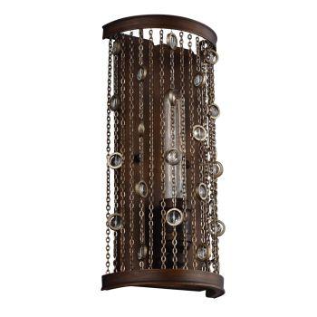 Feiss Colorado Springs 1-Light Sconce in Chestnut Bronze