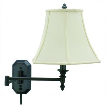 House of Troy Swing-Arm Wall Lamp Oil Rubbed Bronze