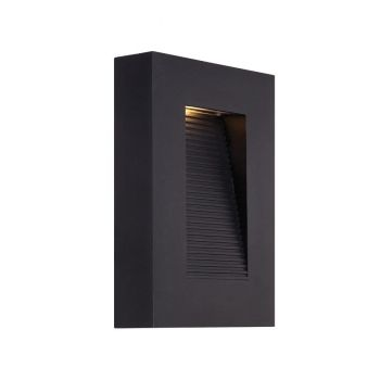 Modern Forms Urban 2-Light Outdoor Wall Light in Black