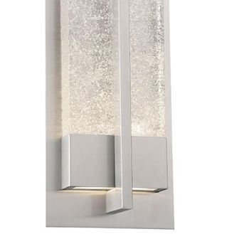 Modern Forms Omni 1-Light Outdoor Wall Light in Stainless Steel