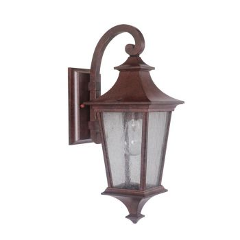 Craftmade Argent II LED Wall Mount Lantern in Aged Bronze