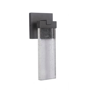 """Craftmade Aria LED 15"""" Modern Outdoor Wall Sconce in Matte Black"""