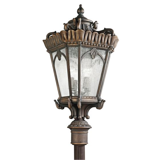 "Ld Kichler: Kichler Tournai 4-Light 37.5"" Outdoor Post Lantern In"