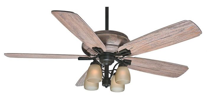 "Casablanca 60"" Heathridge Outdoor Ceiling Fan in Tahoe"