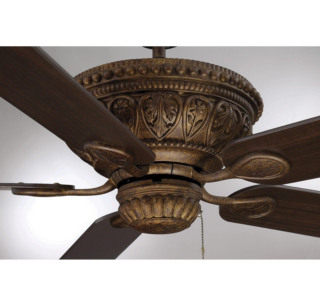Savoy House Indigo Ceiling Fan In New Tortoise Shell
