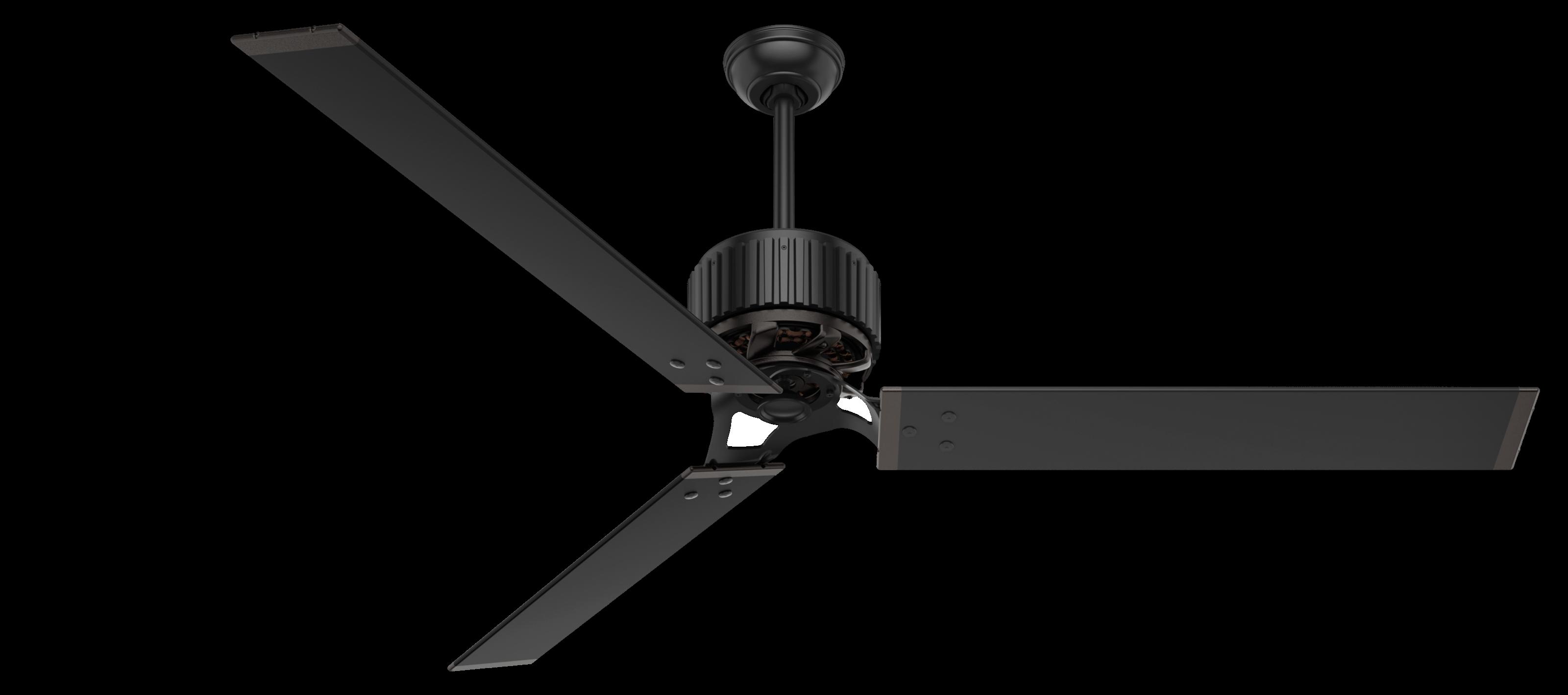Hunter Fans Hfc 72 72 Quot Indoor Outdoor Ceiling Fan In Matte