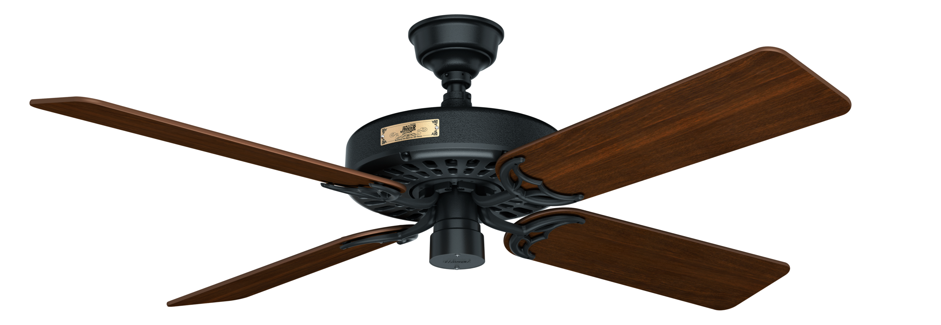Hunter Original 52 Quot Indoor Outdoor Ceiling Fan In Black