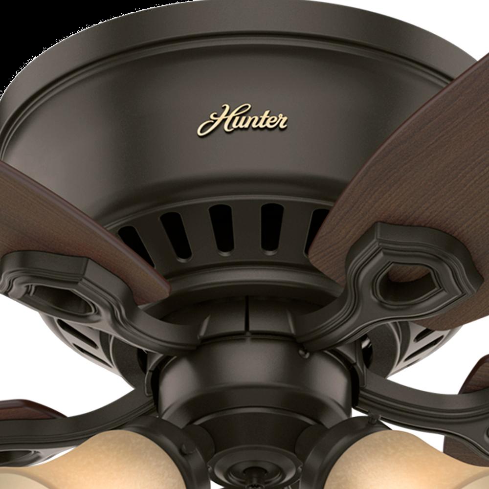 Hunter Builder Low Profile 3 Light 52 Quot Indoor Ceiling Fan