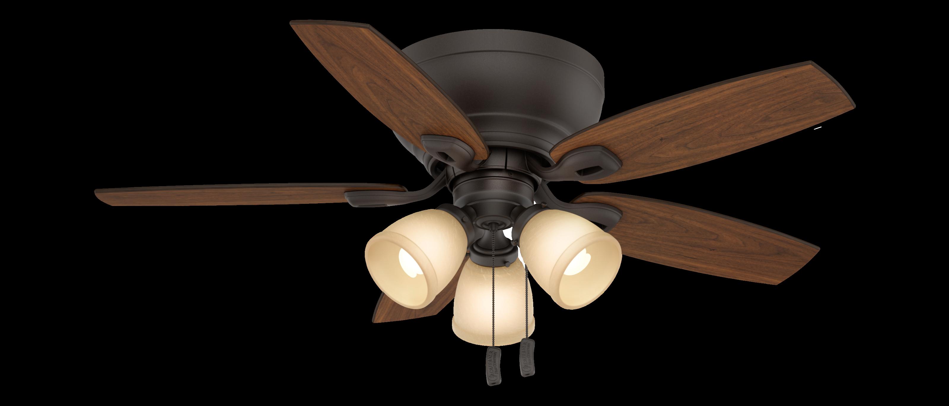 44 Bronze Ceiling Fan on