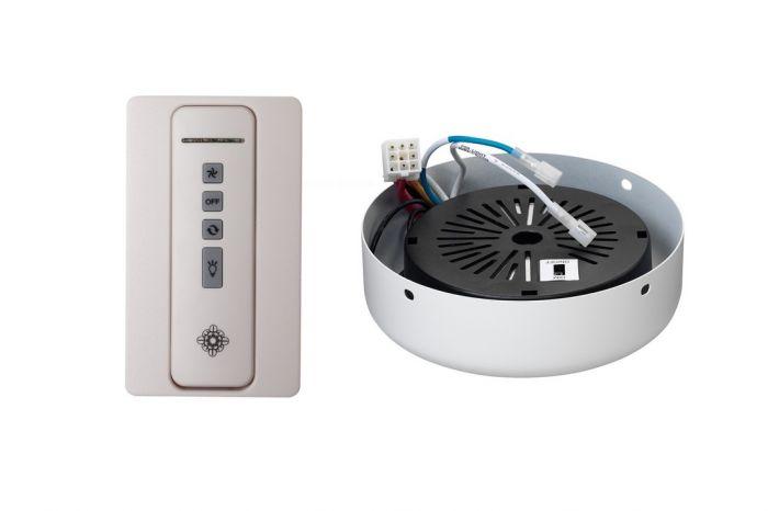 Monte Carlo NEO Hand Held White Remote/Receiver Hub in Rubberized White