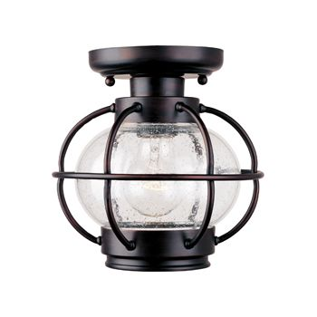 Maxim Lighting Portsmouth Outdoor Ceiling Mount in Oil Rubbed Bronze