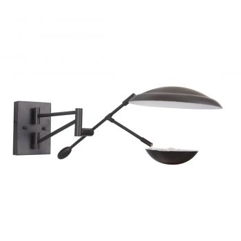 """Craftmade Pavilion 10"""" Wall Sconce in Flat Black"""