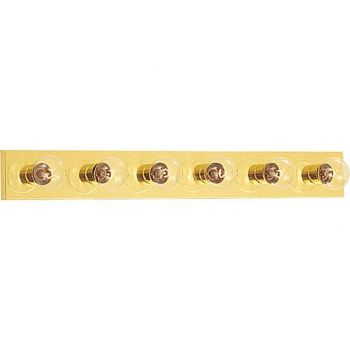 Maxim Lighting Essentials - 445x 6-Light 6-Light Bathroom Vanity Light in Polished Brass