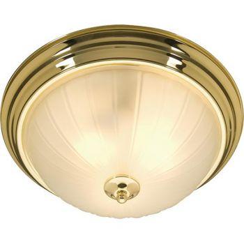 Maxim Lighting Essentials - 583x 2-Light 2-Light Flush Mount in Polished Brass