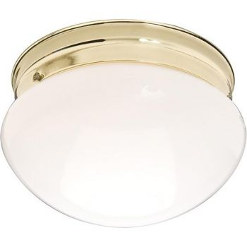 Maxim Lighting Essentials - 588x 2-Light 2-Light Flush Mount in Polished Brass