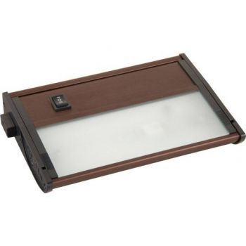 Maxim Lighting CounterMax MX-X12-LX 1-Light 1-Light Under Cabinet Kit in Anodized Bronze