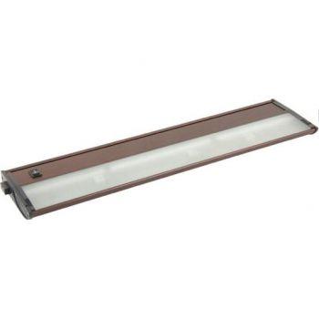 Maxim Lighting CounterMax MX-X12-LX 3-Light 3-Light Under Cabinet Kit in Anodized Bronze