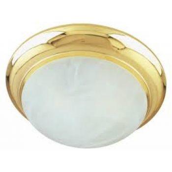 Maxim Lighting Flair EE 2-Light 2-Light Flush Mount in Polished Brass