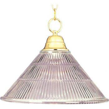 Maxim Lighting Maxim 1-Light Invert Bowl Pendant in Polished Brass