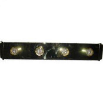 Maxim Lighting 4-Light Bathroom Vanity Light in Polished Brass