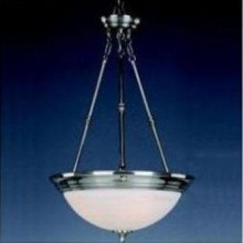 Maxim Lighting 3-Light 3-Light Pendant CFL in Polished Brass
