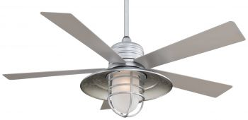 "Minka-Aire Rainman 54"" Indoor/Outdoor Ceiling Fan in Galvanized"