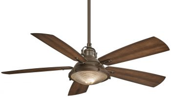 "Minka-Aire Groton 56"" Indoor/Outdoor Ceiling Fan in Oil Rubbed Bronze"