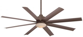 "Minka-Aire Slipstream 65"" Indoor/Outdoor Ceiling Fan in Oil Rubbed Bronze"