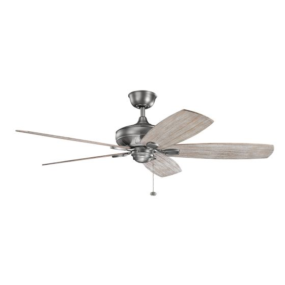 "Kichler Ashbyrn 60"" Ceiling Fan in Antique Pewter"