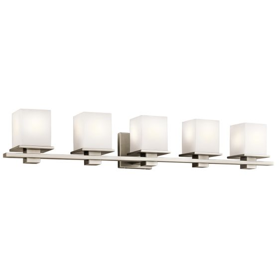 Kichler Tully 5-Light Bath Vanity in Antique Pewter