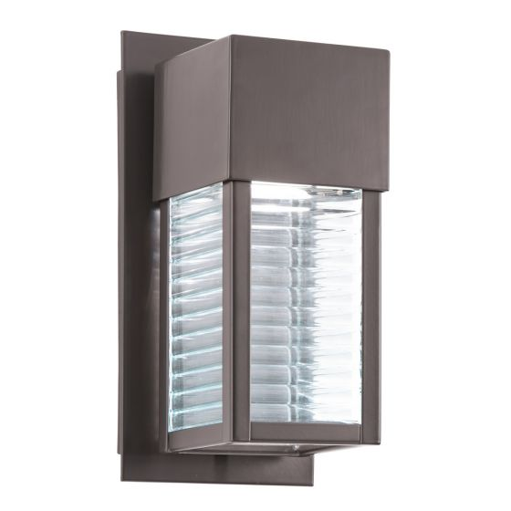 """Kichler Sorel 10.75"""" LED Small Outdoor Wall in Bronze"""