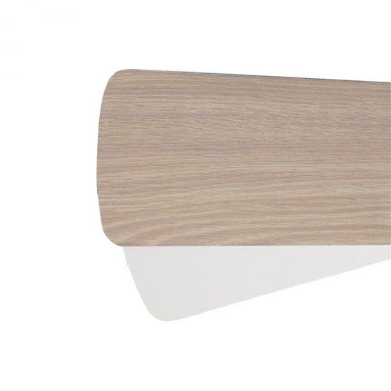 """Quorum Fan Accessories 52"""" Fan Blades in Washed Oak/White (Set of 5)"""