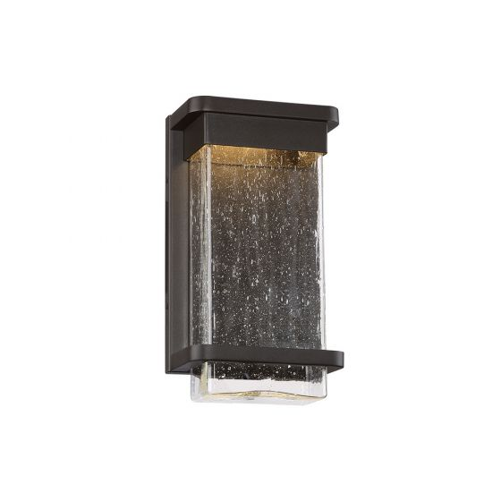 Modern Forms Vitrine 1-Light Outdoor Wall Light in Bronze