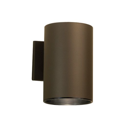 "Kichler Outdoor 1-Light 7.75"" Small Wall Light in Bronze"