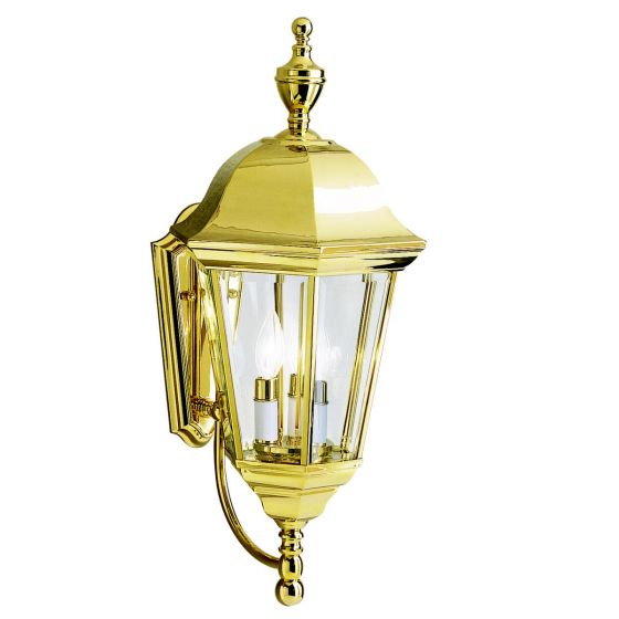 Commercial Lighting Grove City Oh: Kichler Grove Mill 3-Light Outdoor Wall Lantern In