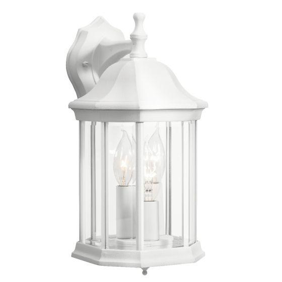 Kichler Chesapeake Outdoor White Hanging Wall Lantern