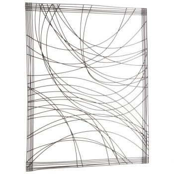 "Cyan Design Lifeline 43.5"" Wall Decor in Graphite"