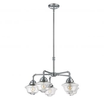 Savoy House Fairfield 5-Light Chandelier in Chrome