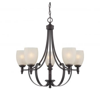 Savoy House Duvall 5-Light Chandelier in English Bronze
